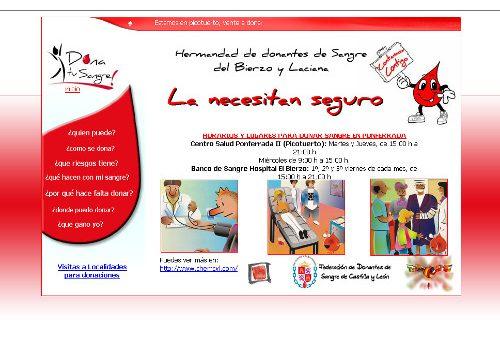 Hermandad de Donantes de Sangre de El Bierzo y Laciana