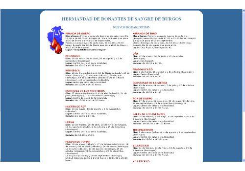Hermandad de Donantes de Sangre de Burgos