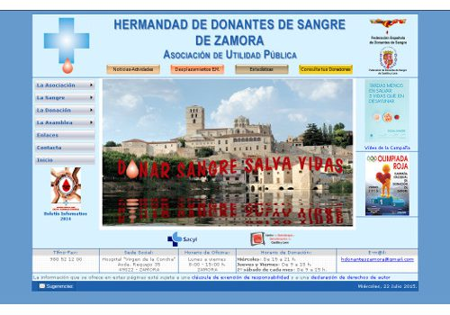 Hermandad de Donantes de Sangre de Zamora