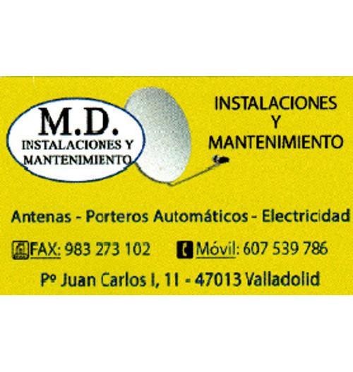 M.D. INSTALACIONES Y MANTENIMIENTO
