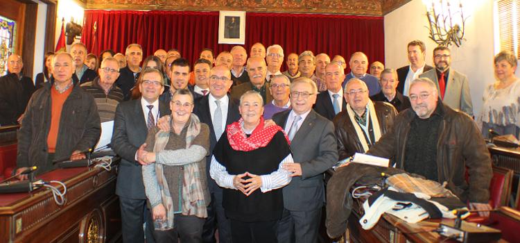 Celebración socio nº 100.000 en la Diputación