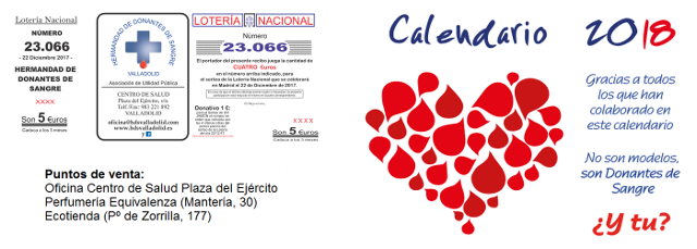 Lotería y Calendario Solidario
