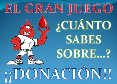 El Gran Juego de la Donación, curso 2017-2018